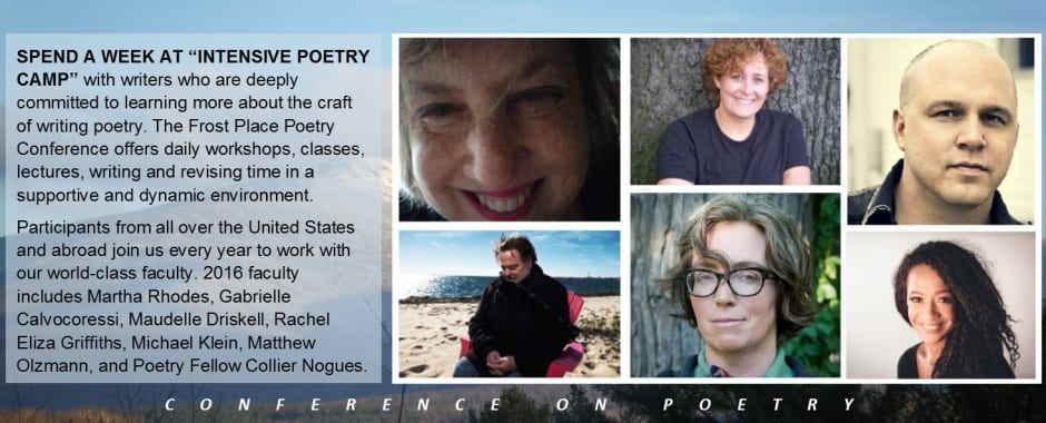 2016 Conference on Poetry