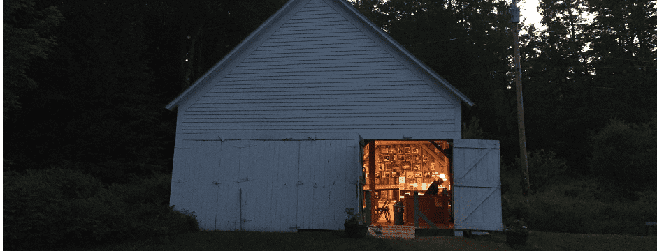 The Frost Place Barn
