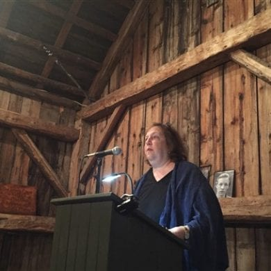 Martha Rhodes reads at the 2016 Conference on Poetry at The Frost Place.